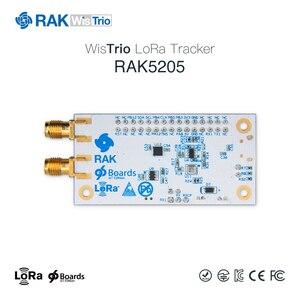 Image 4 - RAK5205 WisTrio LoRa Tracker modülü SX1276 LoRaWAN Modem sensör kurulu entegre GPS modülü LORA anten düşük güç Q159