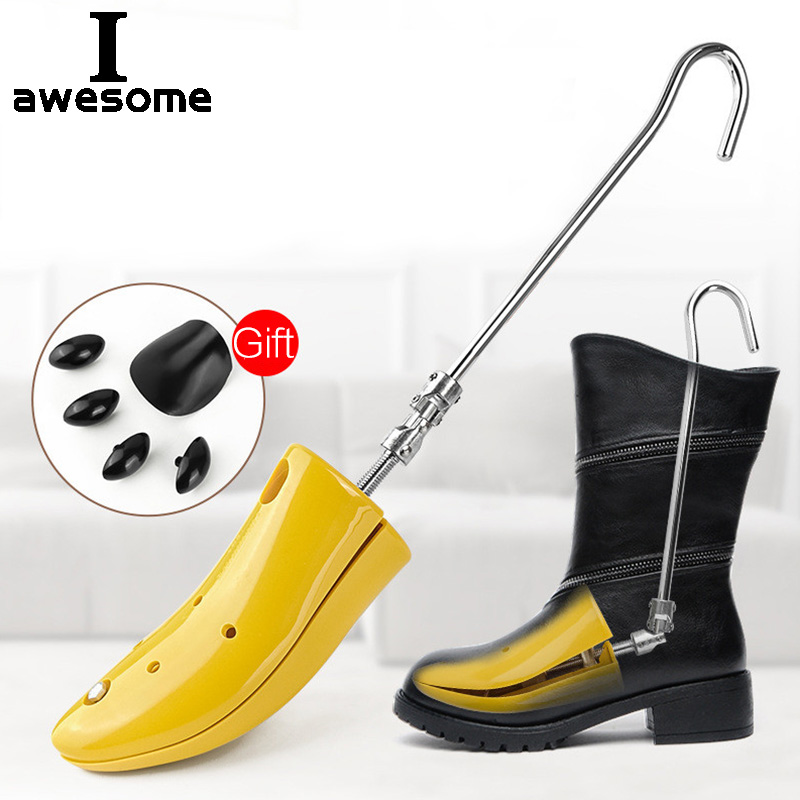 Shoe Trees For Boots Adjustable Upper For Women Shoes Tree Shaper Expander Professional Shoe Stretchers For High Heel Boots