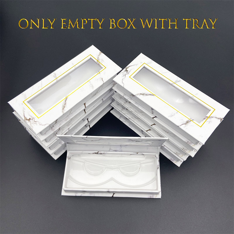 Wholesale Mikiwi 3D Mink Eyelash Box Cils Lash Strip Case Empty Square False Eyelash Packaging Empty Box Custom Your Logo Fake