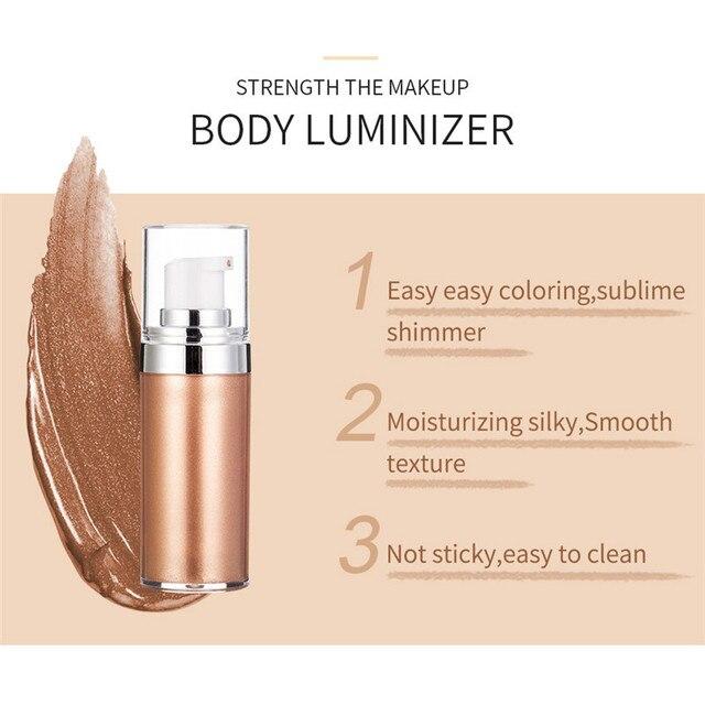Bronzer Highlighter Liquid Setting Spray Illuminating Face Shimmer Long-lasting Brighten Glow Face Glow Highlighter Makeup Face Beauty & Health