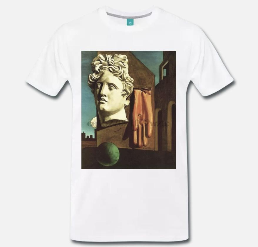 Camiseta maglia giorgio de chirico canto damore arte-S-M-L-XL