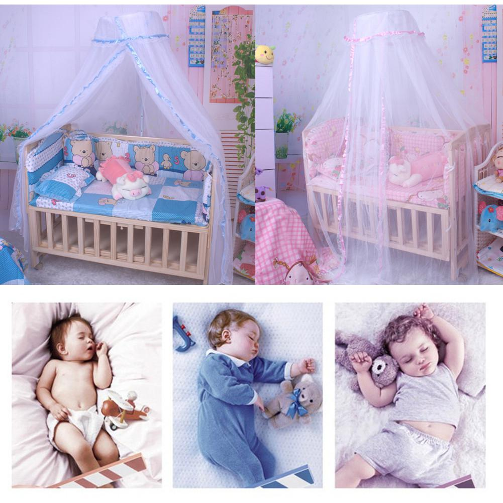 Kidlove Baby Summer Crib Mosquito Net For Infants Portable Cot Folding Canopy Netting Protector Without Bracket