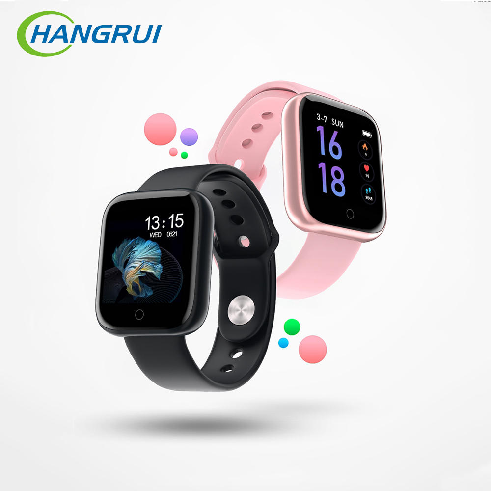 2019 New Men Women Smart Watch iP67 Waterproof Bluetooth <font><b>Smartwatch</b></font> Heart Rate Fitness Tracker Sport Smart Bracelet PK P80 <font><b>P70</b></font> image