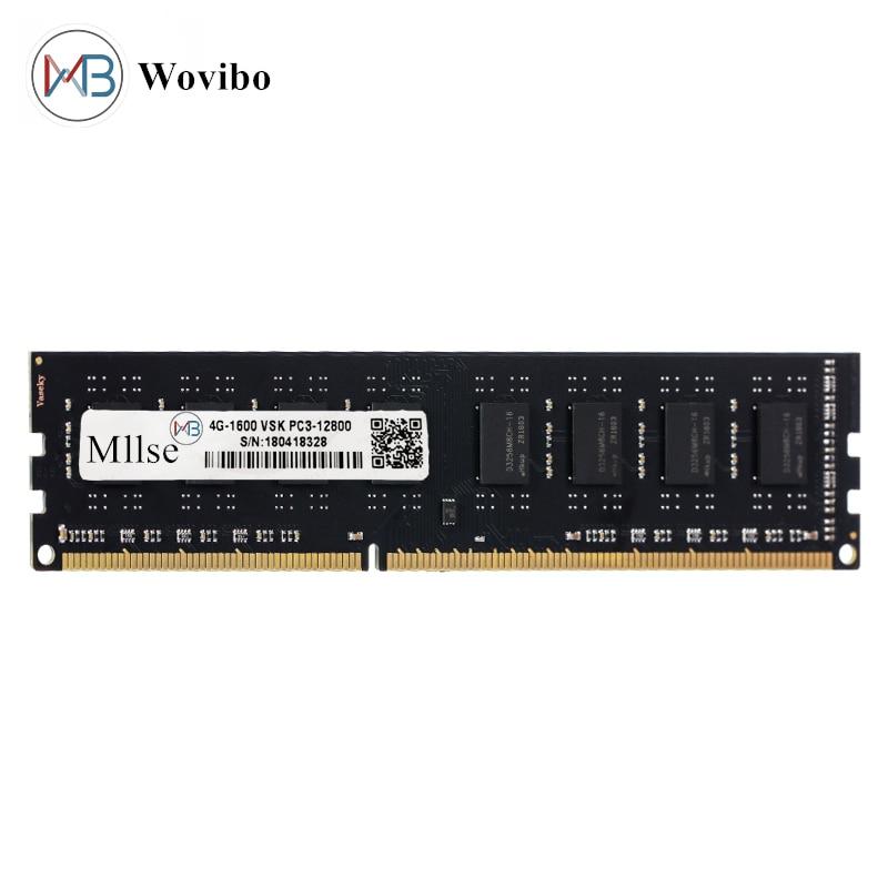 Memória do desktop ram 240pin ddr3 4gb 8gb 16gb 1333mhz 1600mhz não ecc dupla lado cpmputer acessórios|RAM| - AliExpress