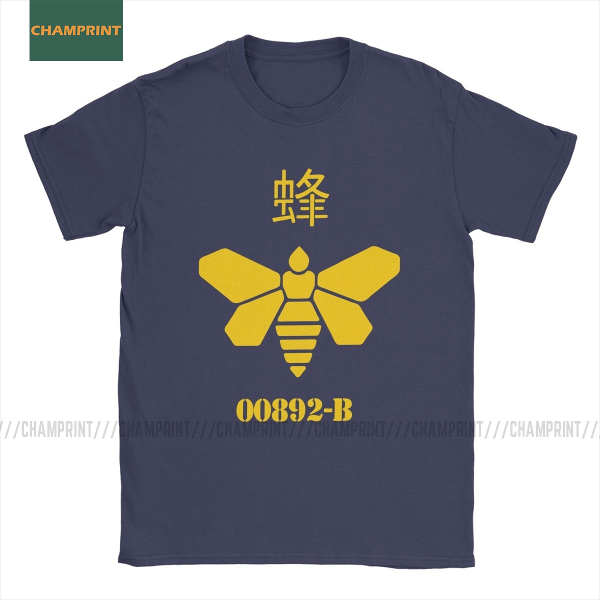 Golden Moth Chemical Breaking Bad T Shirts Men Cotton Cool T-Shirts Walter White Hank Heisenberg Tv Show Tees Short Sleeve Tops image