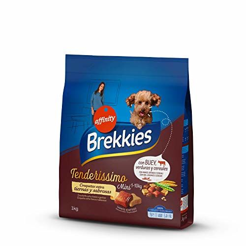 Brekkies Mini Dog Feeder With Buey, Vegetables And Cereals – 1000 G
