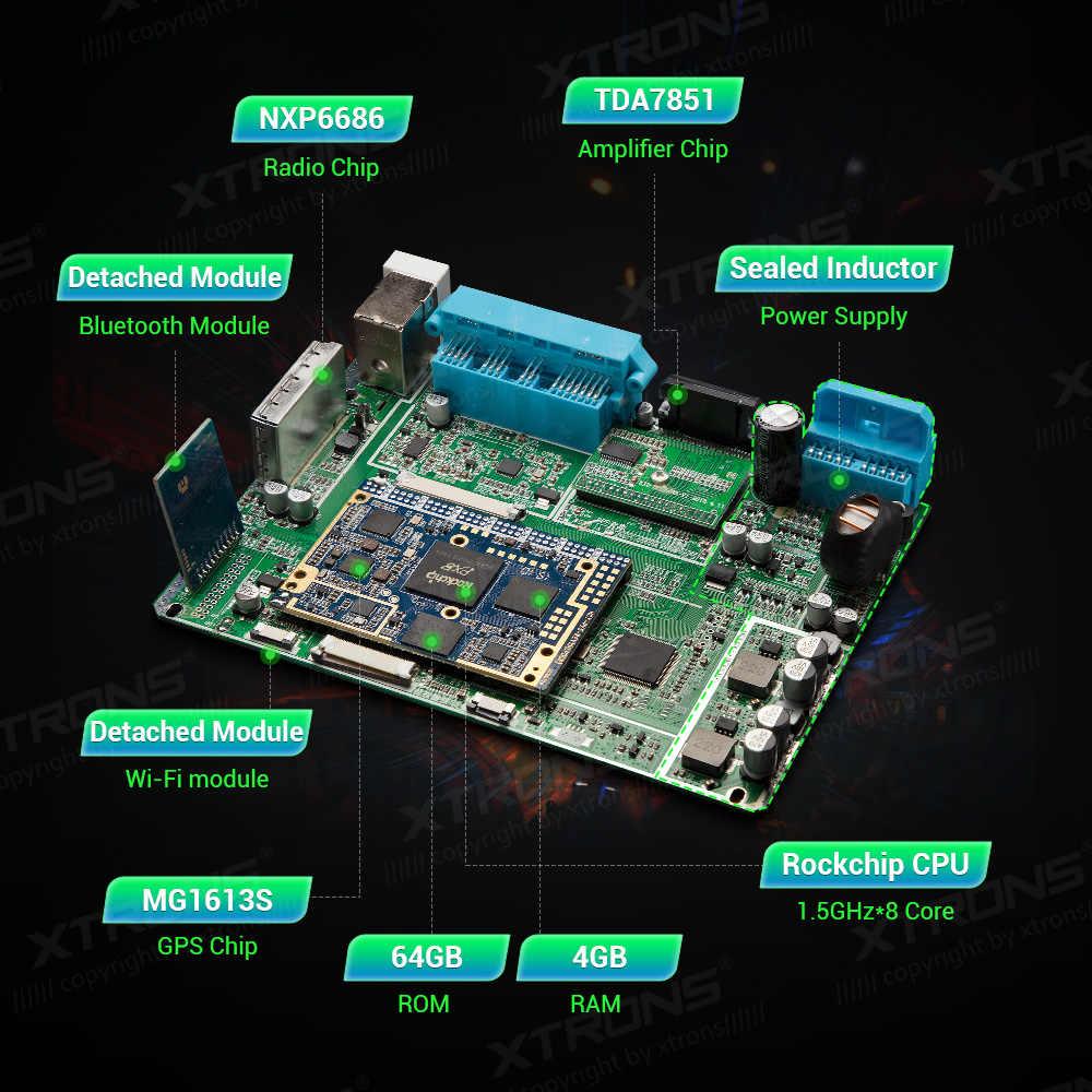XTRONS PX5 アンドロイド 9.0 カー Dvd プレーヤーラジオ Gps 用メルセデスベンツ Ml クラス W164 ML300 ML350 ML450 ML500 2005 -2011 Gl クラス X164