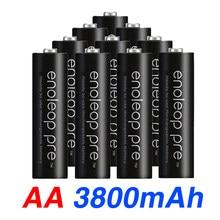 Bateria preliminar do aa da bateria de eneloop pro aa 3800 mah 1.2 v ni-mh lanterna brinquedo pré-aquecido bateria recarregável