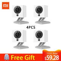 Original Mijia Xiaofang 110 grados F2.0 8X1080 P Digital Zoom inteligente Cámara IP inalámbrica WIFI cámaras cámara