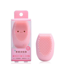 1pc Facial Silicone Cleansing Brush Cleaning Pores Control Oil Remove Blackheads Face Massage  Exfoliating Wash Brush