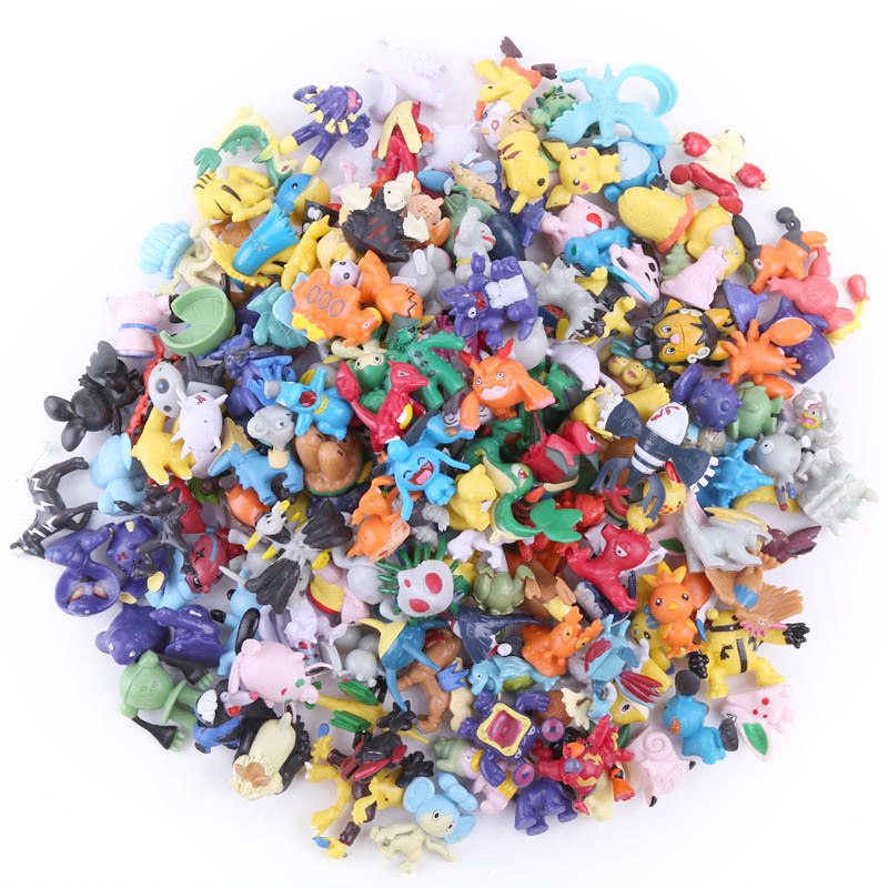 144pcs 2.5cm-3cm TAKARA TOMY POKEMON Figures 144 Different Styles New Dolls Action Figure Toys For Carta Collectible Dolls
