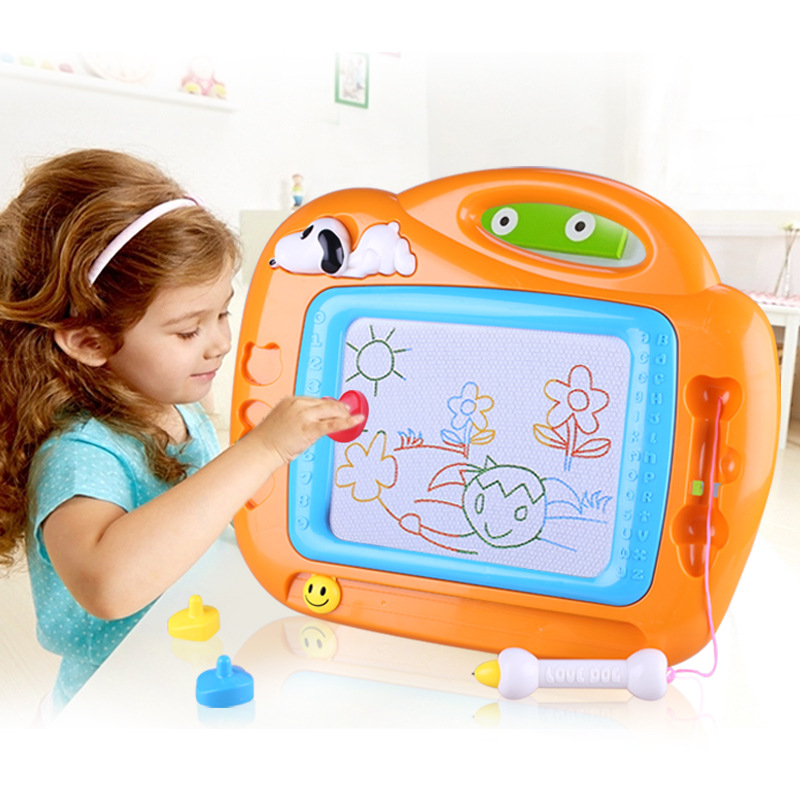 Kiss Baby Oversized Magnetic Drawing Board Graffiti Drawing Board Color Drawing Board Early Childhood Educational Toy