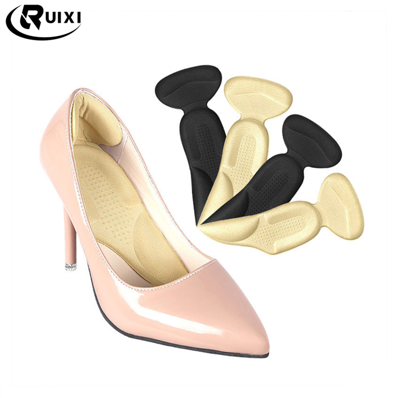 Arch Support High Heel Liner Grips for Women Massage Shock absorption Foot Pain Relief Insert Insoles Shoe Cushion Pad
