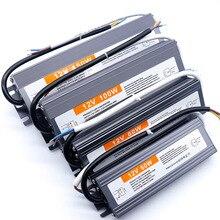 5w 10w 15w 20w 24w 30w 36w 50w 60w 80w 100w 150w DC12V LED Wasserdicht netzteil led-treiber Led-treiber Transformator Außen LED