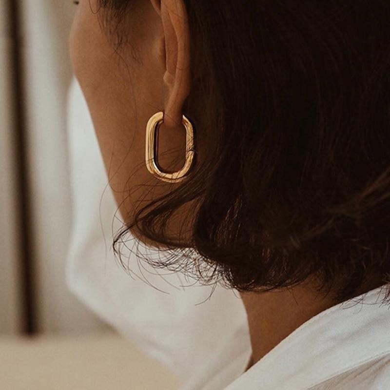 Женские серьги подвески XIYANIKE, из стерлингового серебра 925 пробы, простые винтажные вечерние ювелирные изделия в форме о, подарки|Серьги-гвоздики|   | АлиЭкспресс - Серьги на любой вкус