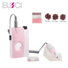 2019 New 25000RPM Electric Nail Drill Machine Rechargeable Portable Cordless Manicure Pedicure Set Nail Polisher Equipment 2015new 25000rpm portable electric nail drill machine rechargeable cordless manicure pedicure nail drill for nail equipment