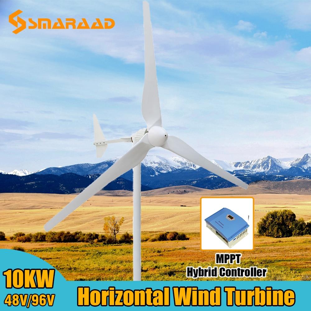 melhor controlador de carga do gerador da turbina eolica do nivel do monstro 1000w 5000w 10kw