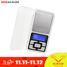 NEWACALOX 200g x 0.01g Mini Precision Digital Scales for Gold Bijoux Sterling Silver Scale Jewelry 0.01 Weight Electronic Scales