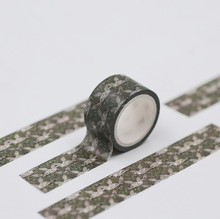 купить 1pc 2cm x 5m Secluded Forest Masking Washi Tape Washitape Scrapbooking decorada Decorative bullet journal Sticker дешево