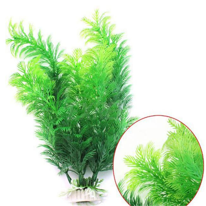 Fish Aquarium Decorations Home Artificial Simulation Plants Fish Tank Aquarium Lovely Decoration Aquarium Accessories(China)