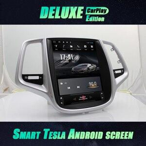 Image 1 - Tesla Screen Navigation CARPLAY Stereo For ChangAn EADO I saloon 2015 Android 10 GPS Car Radio Multimedia Player Autoradio 2 Din