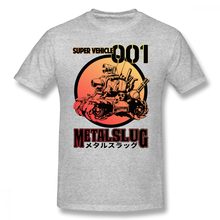 Metal Slug T Shirt Super Vehicle T-Shirt Fashion Graphic Tee Shirt 100 Cotton Man 4xl Short-Sleeve Funny Tshirt цена