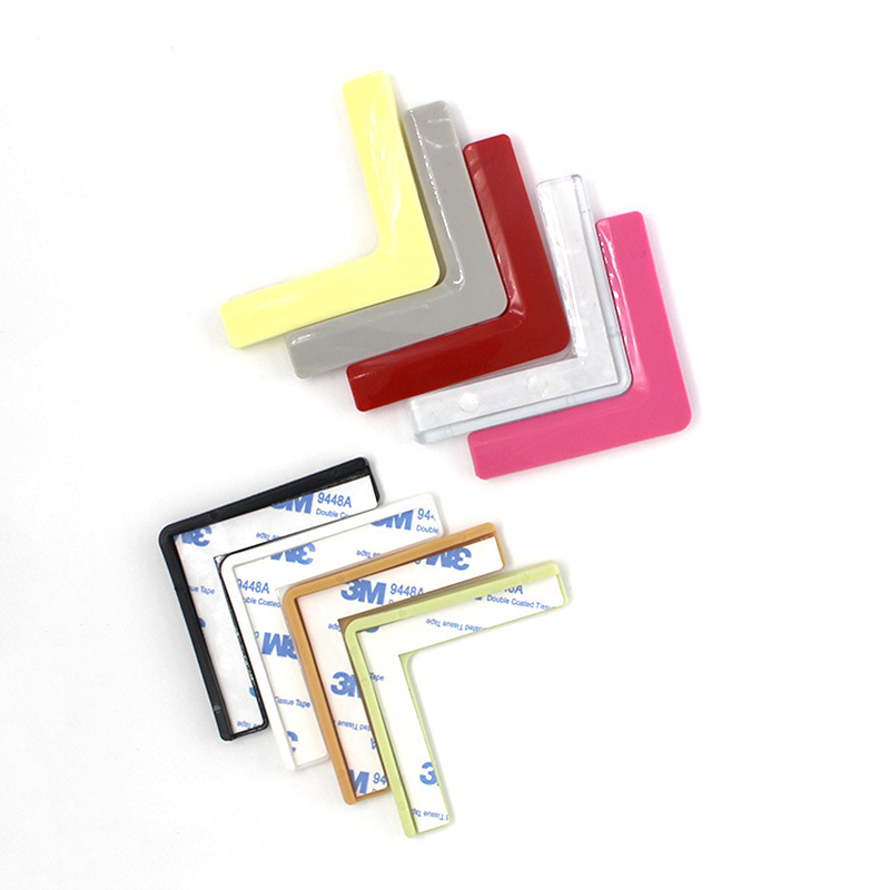 New Style Baby Bumper Silicone Protective Sleeve Color Lengthen L-Shape Bumper Teapoy Table Corner Protector Cornerite