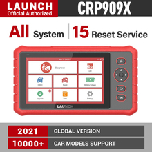 launch x431 crp909 x car diagnostic tool automotive scanner obd obdii auto scan tools fault code read crp909x