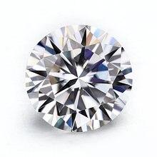 Свободный Муассанит starszuan 65 мм Круглый бриллиантовый вырез