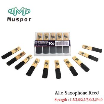 цена на 10 Pack Alto Sax Saxophone Reeds bE Strength 1.5 2.0 2.5 3.0 3.5 4.0 for Alto Saxophone Reed Woodwind Instrument Accessories