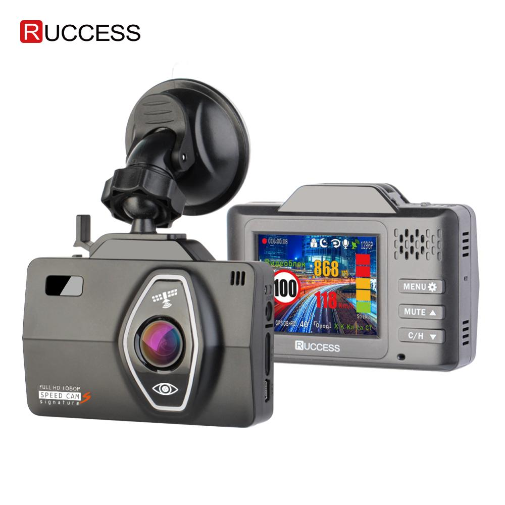 RUCCESS LD600 Dash Cam Full HD 1296P 1080P Car DVR 3 in 1 DVR GPS Radar Detector Dash Camera Dual Lens Car Registrator G Sensor|DVR/Dash Camera| - AliExpress