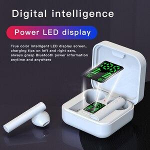 Image 5 - Original AIR6 PLUS earphone Solar Charging TWS Bluetooth headphone LED display mini Ear buds bluetooth 5.0 headset cell phones