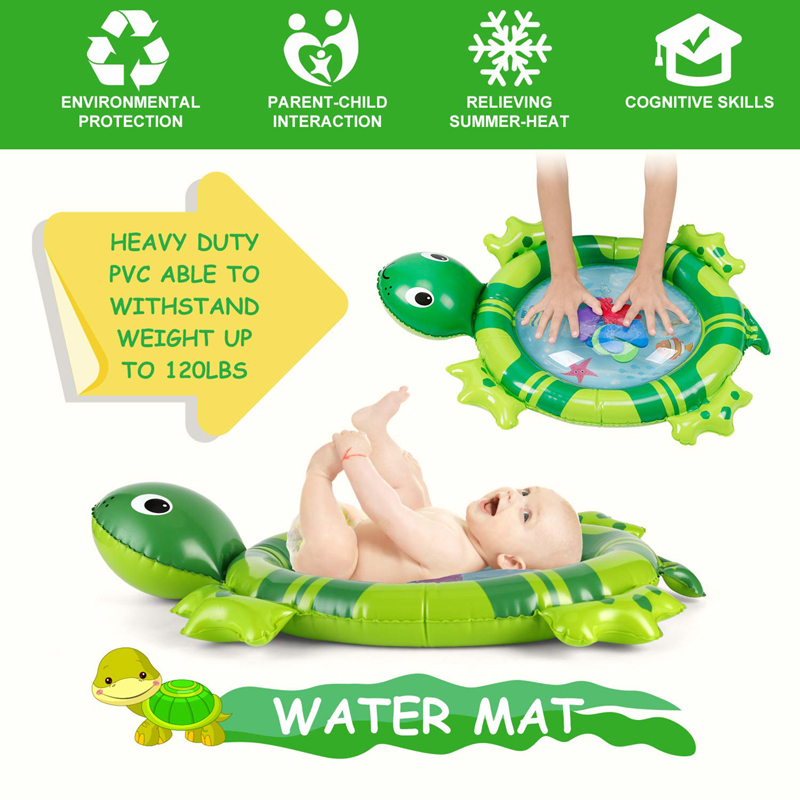 Dropshipping New Design Baby Water Play Mat Inflatable Infant Tummy Time Playmat Toddler For Baby Fun Dropshipping New Design Baby Water Play Mat Inflatable Infant Tummy Time Playmat Toddler For Baby Fun Activity Kids Play Center