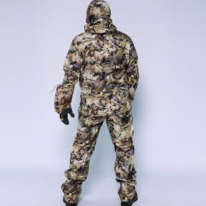 Image 2 - 2019 sitex 스나이퍼 huting jacket + pants 폴리 에스테르 방풍 보세 양털 물새 marsh