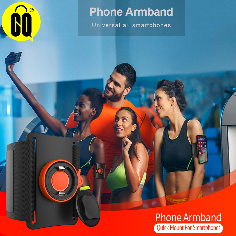 Unverise Phone Cases Sport Armband handbag phone holder for on hand Cover Running Arm Band base iPhone/samsung/huawei