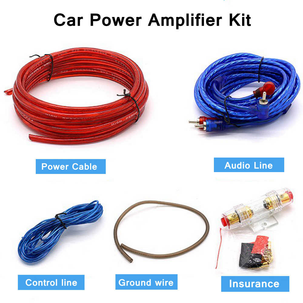 [SCHEMATICS_4CA]  1500W Car Audio Subwoofer Amplifier Wiring Kit Speakers Wiring Amplifier  Installation Kit 10GA Power Cable 60 AMP Fuse Holder| | - AliExpress | Car Audio Amp Wiring Kits |  | www.aliexpress.com