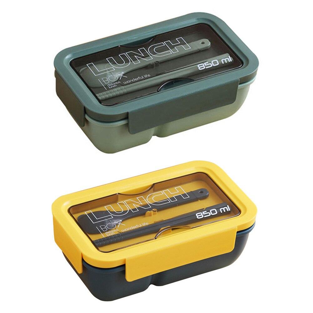 Коробка для микроволновой печи Bento портативная герметичная и Ударопрочная коробка для еды здоровая коробка для бенто столовая посуда