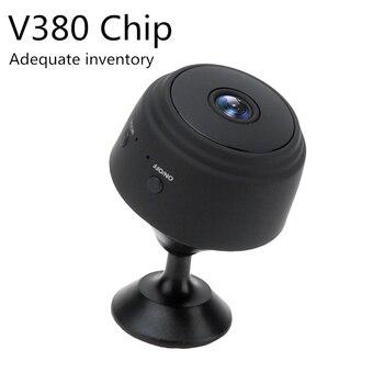 Dropshipping A9 V380 1080P Wifi Mini P2P Night Vision Wireless Surveillance Remote