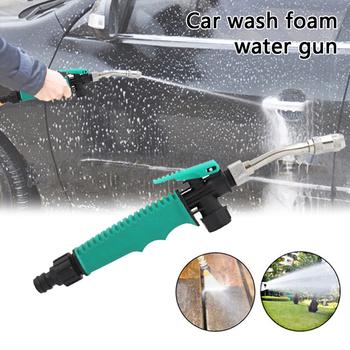Pistolet na wodę pod wysokim ciśnieniem metalu pistolet na wodę wysokociśnieniowa myjnia samochodowa Spray myjnia samochodowa narzędzia ogrodowe strumień wody pod ciśnieniem myjka ciśnieniowa do podlewania i nawadniani tanie i dobre opinie CN (pochodzenie) Dysze High Pressure Water Gun Zmienna kontroli przepływu Zróżnicowany strumień Zraszacze ogrodowe Z aluminium