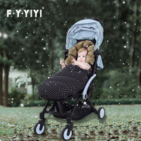 Baby Sleeping Bag For Stroller Baby Carriage Sack Pram Footmuff Warm Winter Changing Diaper Envelope For Newborn Baby Cocoon