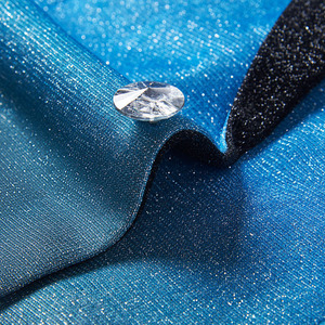 Image 4 - PYJTRL New Mens Artistry Gradient Color Shiny Sky Blue Blazer Night Club Stage Singer Prom Dress Suit Jacket Wedding Costume