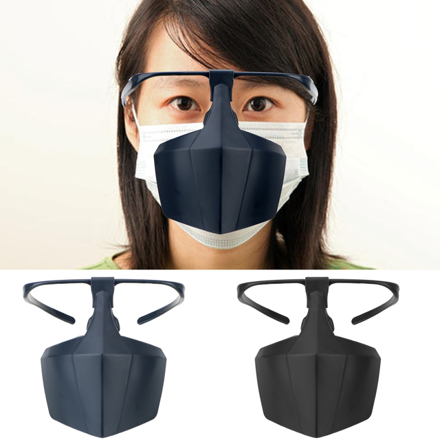 Face Shield Protective Mask Anti-fog Face Mask Against Droplets Reusable Protective Cover Prevent Saliva Spread Mouth Mask