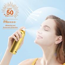 100ml UV Sunscreen Mist Outdoor Sunscreen Spray Waterproof SPF 50 PA ++++ Sun Protection For Beach Sport Sunscreen Spray