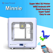 Easythreed MINNIE mini 3d printer Wifi mobile APP with screen for Kids consumer gift personal easy to use portable