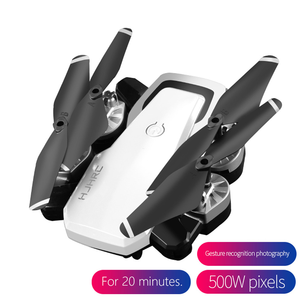 HJ28 Drone 5.0MP 1080P  Wifi FPV Foldable 6-Axis Gyro Headless RC Helicopter Quadcopter Drones Selfie With Camera HD 6