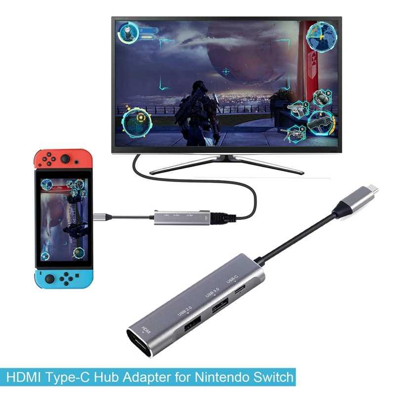 Usb C Naar Hdmi Adapter Hub Voor Voor Samsung Dex Station Mhl Voor Galaxy S8 S9 S10/Plus Note 10/9 Tab S4 S5E S6 Type C/Thunderbolt 3