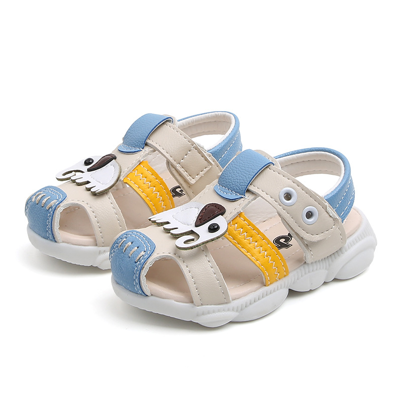 Toddler Baby Shoes High Quality PU Baby Shoes For Boys Girls 2020 New Summer Cute Elephant Animal Kid Shoe 2 Years Baby Shoes