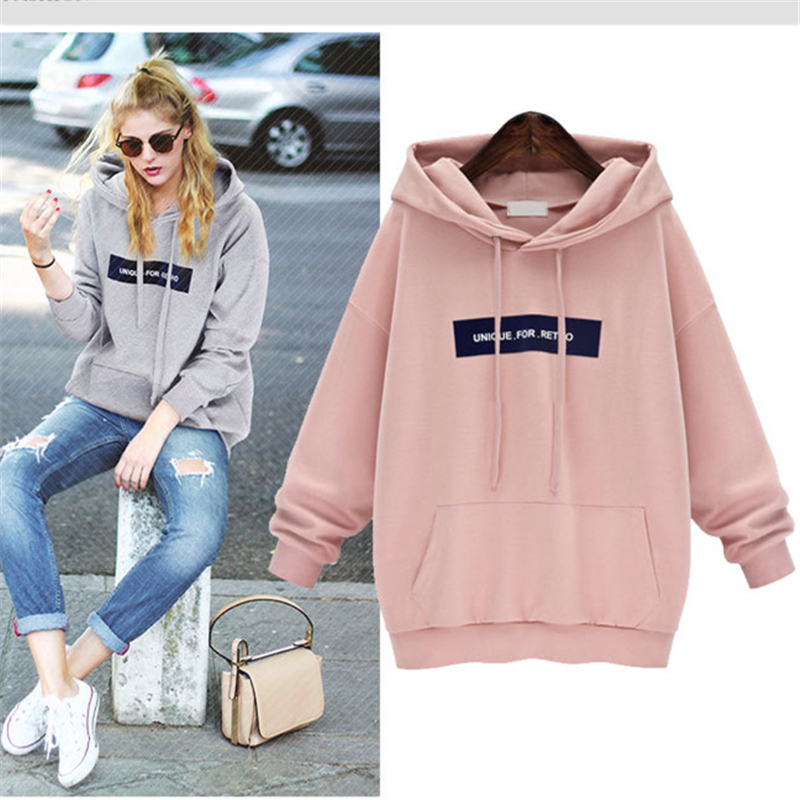 Купить женский свитшот с надписью розовый повседневный пуловер спортивный