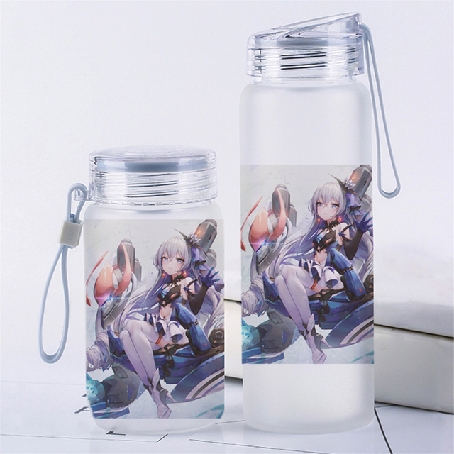Kawaii Portable Water Bottle Travel Cup Anime Honkai Impact 3 Cos Holiday Gift