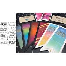 Прозрачные штампы для скрапбукинга и изготовления карт силиконовые
